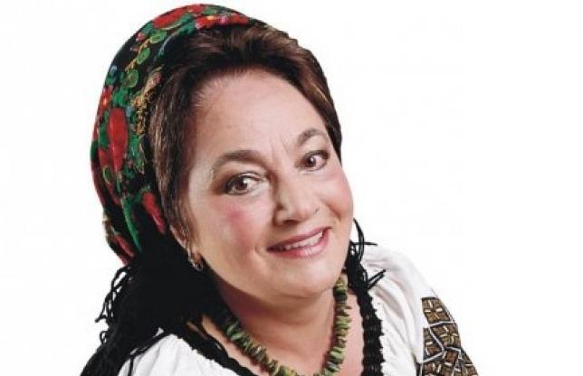 Folk singer Laura Lavric